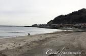 2017關東10日樂得自在:●一對在沙灘上漫步小姐弟.JPG