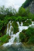2018不思議之克、斯、義秘境歐遊記(2~2)--普萊維斯國家公園N.P. Plitvice仙境傳說:33●奔流的湖水,宣洩天地的壯志與豪情.JPG