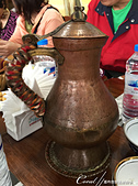 2019Amazing!穿越古絲路上的中亞五國之旅(11-4)--土庫曼斯坦之初嚐手抓飯:05●用傳統銅壺盛裝的紅茶.JPG