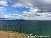 2019夏季內蒙草原風光與貝加爾湖詩意之約(9-1)--6H「遊盪」奧利洪島之追風、尋幽、賞湖景:09●當地球上最大、也是最深的貝加爾湖就在眼前,如願以償的感動瞬間大迸發 (2).JPG