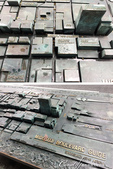 2017初夏14日自由行:●這個雕塑品是位在心齋橋大丸百貨前的一個針對禦堂筋大道做的立體指南.JPG