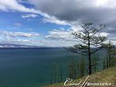 2019夏季內蒙草原風光與貝加爾湖詩意之約(9-1)--6H「遊盪」奧利洪島之追風、尋幽、賞湖景:09●當地球上最大、也是最深的貝加爾湖就在眼前,如願以償的感動瞬間大迸發 (3).JPG