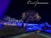 ●2015北海道之旅:●夜晚,飯店很有心的在湖畔亮起燈,為迎接2015的耶誕節而造景.jpg