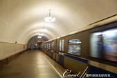 2018印象翻轉的俄羅斯奇幻之旅(3-1)--目眩神迷在宛如藝術殿堂的莫斯科地鐵站:09●有了漂亮的燈飾與拱頂,既古典又優雅,讓地鐵站成為另類的觀光景點.JPG