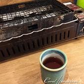 紅葉飄飄15日東京自由行--以滋味美妙的金槍魚三色丼結束快樂的行程:12●每桌都有的小烤爐,不過晚餐才開始供應.JPG