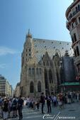 2018不思議之克、斯、義秘境歐遊記(10)--飛回台灣前的維也納印象之旅:29●遠望维也纳的聖史蒂芬大教堂 Domkirche St. Stephan.JPG