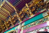紅葉飄飄15日東京自由行--大猷院:●夜叉門的雕刻、色彩運用及細節相當精緻華麗.JPG