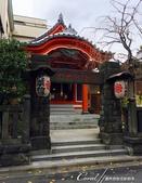 紅葉飄飄15日東京自由行--藍瓶咖啡Blue Bottle:11●住宅區裡的民間信仰.JPG