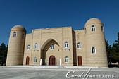 2019Amazing!穿越古絲路上的中亞五國之旅(12-1)--土庫曼斯坦之傳說中的默伏古城:07●約瑟夫·哈馬達尼清真寺Yusuf Hamadani mosque至今仍是當地人的朝拜聖地.JPG