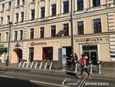 2018印象翻轉的俄羅斯奇幻之旅(4-1)--告別莫斯科的爽朗清晨&搭火車來去金環古鎮做客:09●本應該是上班的顛峰時分,但馬路上少有趕著上班的人潮車潮,異常清爽的街景,很讓人意外.JPG