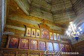 2018印象翻轉的俄羅斯奇幻之旅(5-3)--散發古老歲月味道的木造建築博物館與農民生活博物館:11●教堂的內部裝潢雖有別於後期磚造建築內的金璧輝煌,但該有的還是沒有少.JPG
