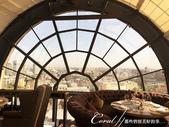 2018印象翻轉的俄羅斯奇幻之旅(3-4)--品味摩登現代感愛麗絲夢遊意境的白兔餐廳:01●玻璃穹頂之外,是鮮明的莫斯科市中心.JPG