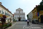 2018不思議之克、斯、義秘境歐遊記(2~1)--克羅埃西亞首都札格雷布Zagreb:39●正前方的聖凱薩琳基督教堂(St Catherine's Church),號稱是當地最美的巴洛克式教堂.JPG