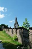 2018不思議之克、斯、義秘境歐遊記(9)--霍恩斯特維茨城堡 Burg Hochosterwitz:25●仰望城堡就在不遠處,不禁為這趟徒步之行喝采.JPG