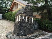 在水一方--初秋記遊之登高眺望天橋立:●去神社時,常會看到草繩上掛著白紙片,吊在鳥居、神社上或是圍在岩石或樹木上。這種繩子稱為「注連繩」。.JPG