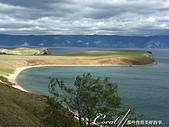 2019夏季內蒙草原風光與貝加爾湖詩意之約(9-1)--6H「遊盪」奧利洪島之追風、尋幽、賞湖景:09●當地球上最大、也是最深的貝加爾湖就在眼前,如願以償的感動瞬間大迸發 (4).JPG