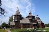 2018印象翻轉的俄羅斯奇幻之旅(5-3)--散發古老歲月味道的木造建築博物館與農民生活博物館:03●位在園區內的木造教堂建築群,是造訪此處的重點之一.JPG