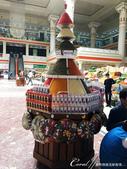 2019Amazing!穿越古絲路上的中亞五國之旅(7-4)--塔吉克斯坦之摩登市集:04●一層一層色香味俱全;很難讓煮婦逃過誘惑的香料塔.JPG