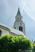 2018不思議之克、斯、義秘境歐遊記(8~1)--陶醉蠆意大利邊境 Dolomites (德洛米堤山:32●教堂的鐘聲傳遍山間,是居民習以為常的聲音,也為旅人帶來心靈的慰藉.JPG