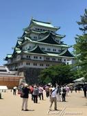 初夏14日自由行--春風吹又生的名古屋城:●遊人爭相拍照的名古屋城.JPG