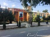 2019Amazing!穿越古絲路上的中亞五國之旅(8-3)--塔吉克斯坦之謝赫‧穆斯里希丁陵墓:07●無所不在的總統先生 Emomali Rahmon又出現在公共建物上了.JPG