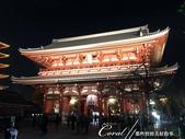 紅葉飄飄15日東京自由行|Day 14--向淺草說再見的早餐:05●觀光客必訪的地標,在夜晚依舊閃耀著它具有代表性的光芒.JPG