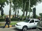 2019Amazing!穿越古絲路上的中亞五國之旅(7-1)--塔吉克斯坦之「山地之國」初印象  :10●從希薩碉堡返回市區換了條路,隨著天氣漸朗,城市風光也像配足了照明一般鮮明起來,車變多了些,市區筆挺的上