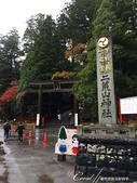 紅葉飄飄15日東京自由行--日光二荒山神社:●一直要費心的移動及抓角度....JPG