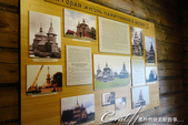 2018印象翻轉的俄羅斯奇幻之旅(5-3)--散發古老歲月味道的木造建築博物館與農民生活博物館:13●牆面上亦展示了當初搬遷至此的紀錄.JPG