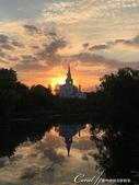 2018印象翻轉的俄羅斯奇幻之旅(6-1)--流連只為守候蘇茲達爾的朝陽升起:10●果然,當朝陽升起那一刻,炙熱的紅光瞬間讓前景變成翦影.JPG