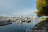 2018加拿大四年一度鮭魚洄遊V.S.洛磯山脈國家公園健走趣(6-2)--橡樹灣遊艇碼頭覓海豹:04●風平浪靜的港灣,海面波平如鏡.JPG