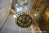 2018印象翻轉的俄羅斯奇幻之旅(5-1)--救世主變容大教堂在當地是保留16世紀宗教繪畫的寶庫:●未隨著歲月失去風采的水晶燈.JPG