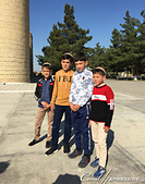 2019Amazing!穿越古絲路上的中亞五國之旅(12-1)--土庫曼斯坦之傳說中的默伏古城:14●在清真寺中遇到一群整潔乾淨、樣貌清秀的小男生,毫不扭捏的當我們鏡頭前的男主角.JPG