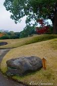 紅葉飄飄15日東京自由行--清澄庭園的特色名石:01.JPG