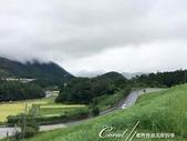 初秋記遊之遺世獨立的竹田城遺跡:●搭乘小巴上山的路.JPG