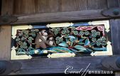 東照宮內彷彿敘述猴子一生的連環雕刻圖:●01-眺望遠方的母猴和仰望母親的小猴.JPG