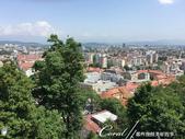 2018不思議之克、斯、義秘境歐遊記(6~3)--中古世紀盧比安納城堡 Ljubljana Cast:13●居高臨下俯瞰首都盧比安納,包圍這座城市的,正是遠方的阿爾卑斯山山麓.JPG
