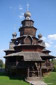 2018印象翻轉的俄羅斯奇幻之旅(5-3)--散發古老歲月味道的木造建築博物館與農民生活博物館:04●非常顯眼的基督變容大教堂.JPG