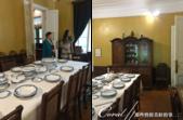 2018印象翻轉的俄羅斯奇幻之旅(3-2)--一窺托爾斯泰故居紀念館之不凡人物的平凡日常:11●上樓後,第一個映入眼簾的是家族用餐的地方,一字排開的餐盤象徵了多人吃飯的景象.png