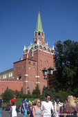 2018印象翻轉的俄羅斯奇幻之旅(2-5)--陰與陽、柔與剛交錯下的莫斯科之心「克里姆林宮」:08●三位一體塔樓過去是地位最高的神職人員與王室成員進入克里姆林的專用通道.JPG