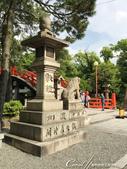 2017初夏14日自由行:●住吉大社境內有很多來自全國信眾奉納的石燈籠04.JPG