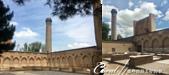 2019Amazing!穿越古絲路上的中亞五國之旅(14-2)--烏茲別克斯坦之三座重要的陵墓:18●由於腹地實在太廣大,所以很難拍下全景,一棟棟的建物,就著麼拼湊了一個到此一遊的記憶 (3).png