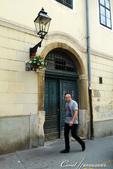 2018不思議之克、斯、義秘境歐遊記(2~1)--克羅埃西亞首都札格雷布Zagreb:38●離開聖馬可教堂的街上也有風情不同的建築物可欣賞.JPG