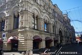 2018印象翻轉的俄羅斯奇幻之旅(2-7)--古姆百貨的西瓜噴泉、冰淇淋與莫斯科河的夜色:03●一早經過尚未營業的古姆百貨,即深深被那宛如宮殿般精緻華美的外觀所吸引.JPG