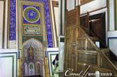 2019Amazing!穿越古絲路上的中亞五國之旅(13-4)--烏茲別克斯坦之布哈拉亞克要塞:21●室內一處進行禮拜的精美壁龕與伊瑪目進行禮拜時吟頌可蘭經用的木梯.png
