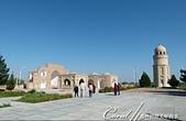 2019Amazing!穿越古絲路上的中亞五國之旅(12-1)--土庫曼斯坦之傳說中的默伏古城:06●這座為紀念Yusuf Hamadani這位神學家而建的清真寺中,除了有禮拜堂外,還有經學院與Yusuf Hamadani的陵墓.JPG