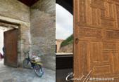 2019Amazing!穿越古絲路上的中亞五國之旅(7-2)--塔吉克斯坦之歷史文化遺產希薩碉堡:04●雖然碉堡遺址大多經過後世的修復重建,不過在此還是可以看到保有歷史痕跡的磚石與門廊,但是雕刻經美的木門,