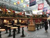 紅葉飄飄15日東京自由行--品味黑毛牛的奢華食光:07●地標蜘蛛後方的耶誕市集,剛開始準備中,氣氛尚未炒熱.JPG