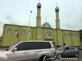 2019Amazing!穿越古絲路上的中亞五國之旅(7-1)--塔吉克斯坦之「山地之國」初印象  :08●其間也穿插經過幾個異於一般造型的清真寺、有錢人家的豪宅華墅、和看似高檔的營業場所 (3).JPG