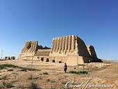 2019Amazing!穿越古絲路上的中亞五國之旅(12-1)--土庫曼斯坦之傳說中的默伏古城:23●大奇茲·卡拉堡壘Great Kyz Kala殘存的斷垣殘壁,幾乎無法想像它的原貌.JPG